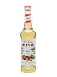 Monin Syrup Hazelnut 1x70cl (Glass)