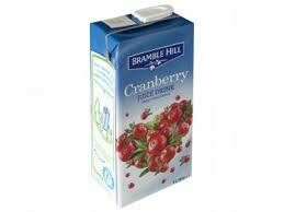 Cranberry  Juice Carton 1 x 1Ltr
