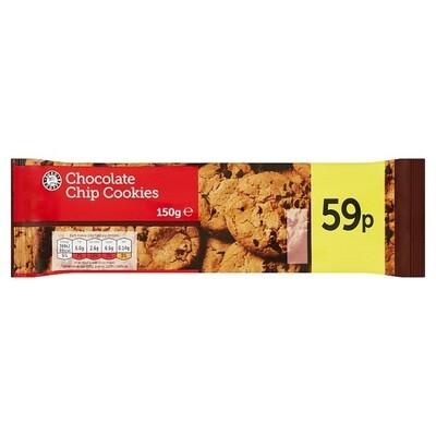 ES Choc Chip Cookies 1 x 150g