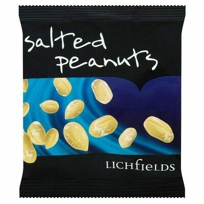 Carded Salted Peanuts 24 x 50g