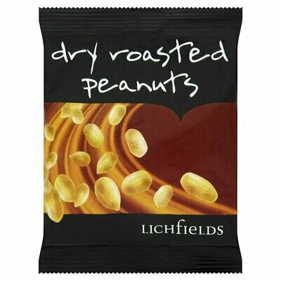 Carded Dry Roasted Peanuts 24 x 50g