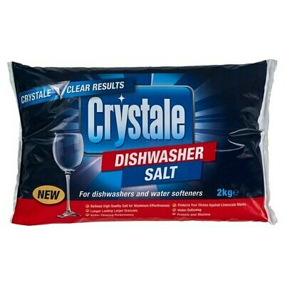 Crystale Dishwasher Salt 1 x 2 kilo