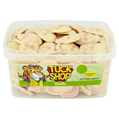 Tuck Shop Skulls 120 Pieces 720g