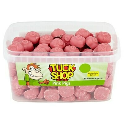 Tuck Shop Pink Pigs 120 Pieces 660g