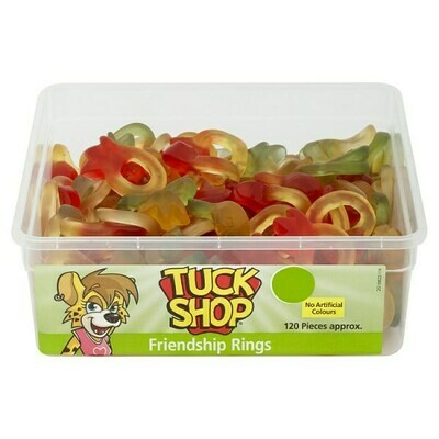 Tuck Shop Friendship Rings 120 Pieces 864g