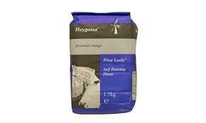 3 Kilo Bag  Heygate Self Raising Flour 1 x 3 Kilo