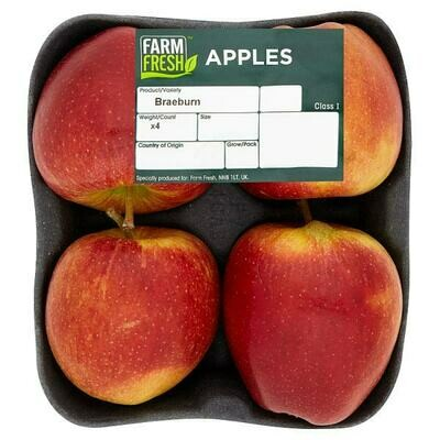 Farm Fresh Red Apples 1 x 4 Pack