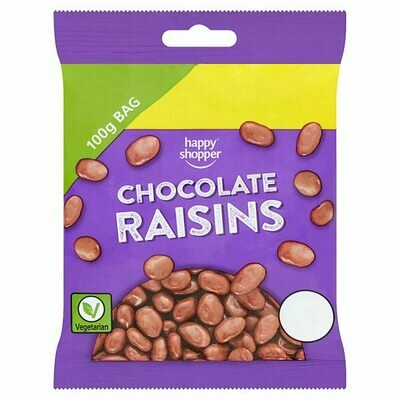Happy Shopper Chocolate Raisins 100g