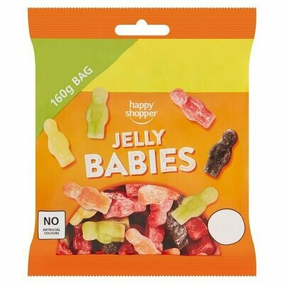 Happy Shopper Jelly Babies 160g