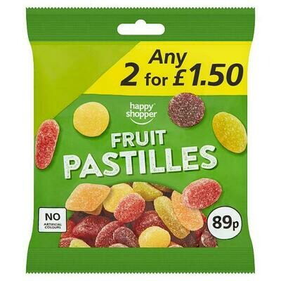 Happy Shopper Fruit Pastilles 160g