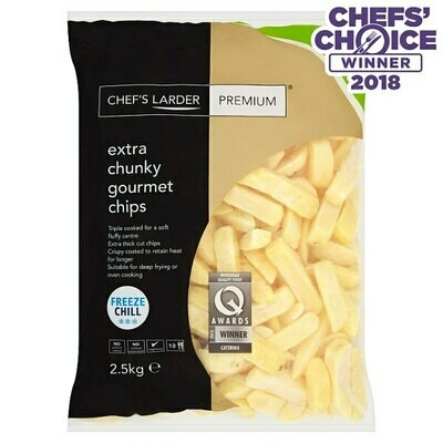 OVEN COOK  Premium Extra Chunky Gourmet Chips 2.5kg
