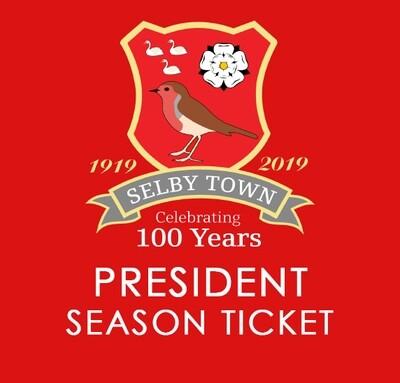 President Season Ticket 2020/21