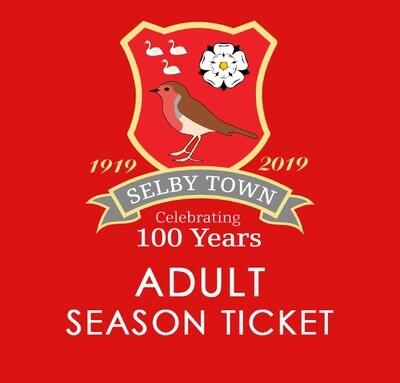 Adult Season Ticket 2020/21