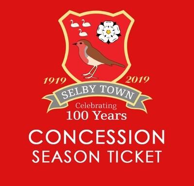 Concession Season Ticket 2020/21