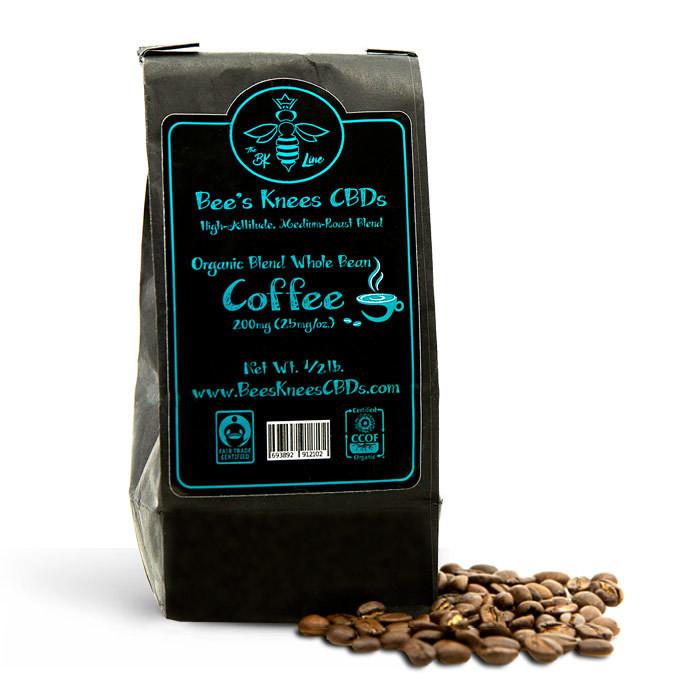 CBD Infused Coffee 200mg 1/2 pound