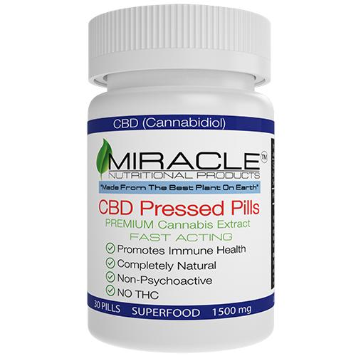 Pressed Pills  1500mg 30 CT 50mg each Capsule
