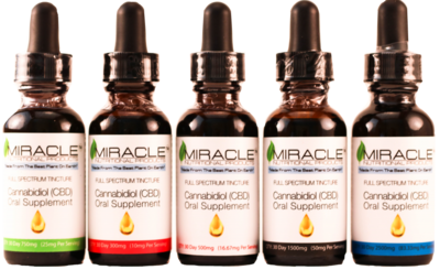 Pharma-Grade CBD Tinctures 300mg, 500mg, 750mg, 1500mg, 2500mg