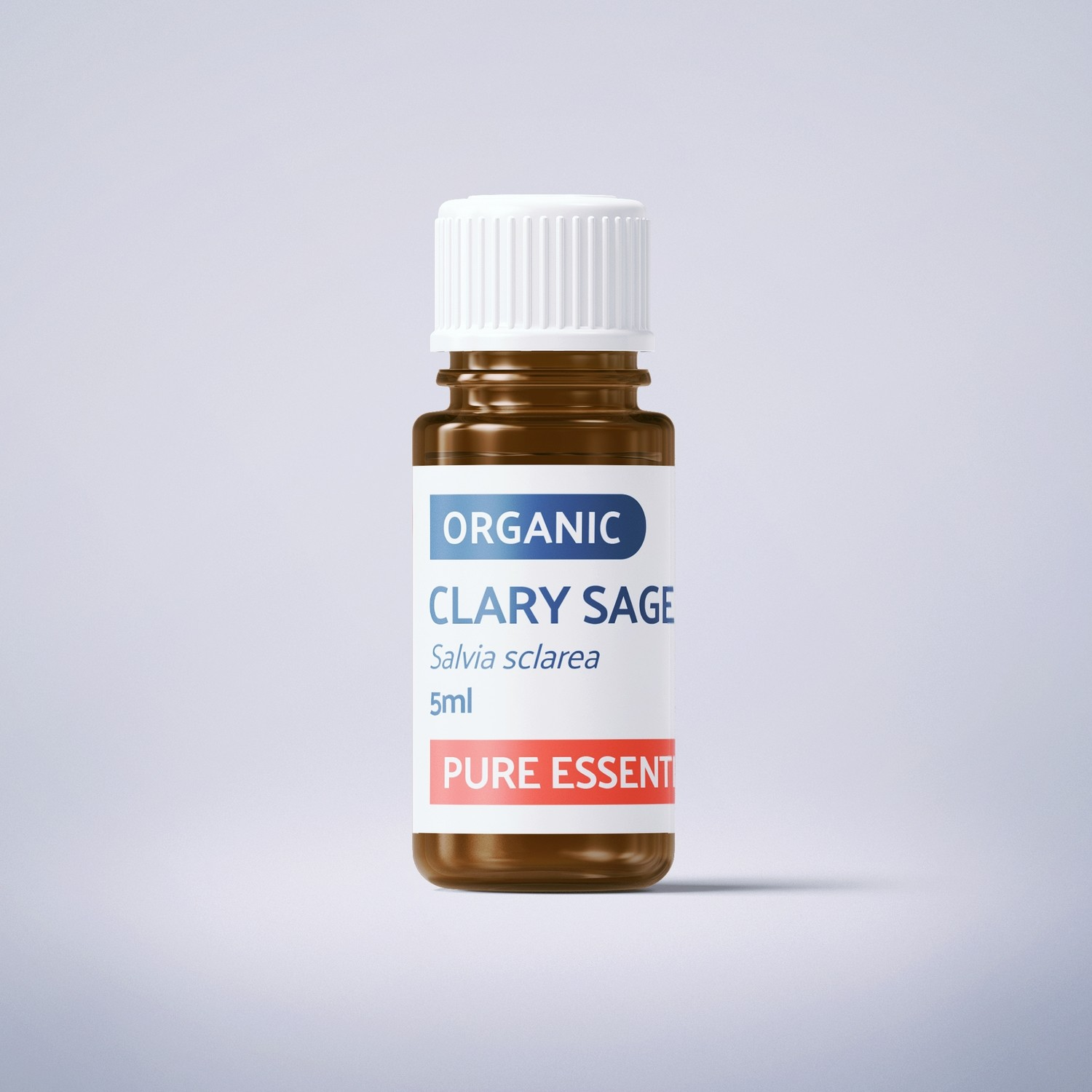 Organic Clary Sage - 5ml - 100% Pure Essential Oil