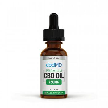 CBDMD Broad Spectrum THC Free CBD Oil