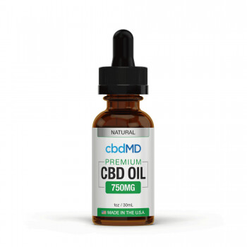 CBDMD Broad Spectrum THC Free CBD Oil