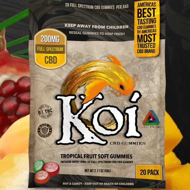 Koi Full Spectrum Gummies