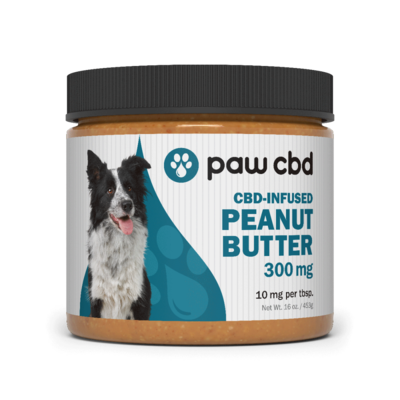 Paw CBD Peanut Butter 300mg