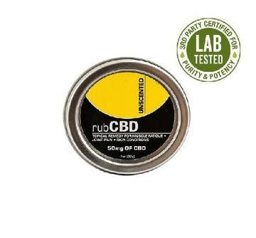 CBD Topical Remedy - Unscented 150mg