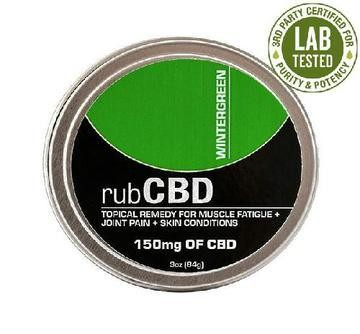 CBD Topical Remedy - Wintergreen 150mg