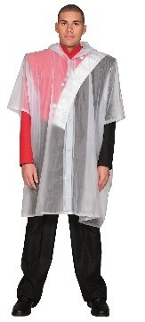 FRONT SNAP PONCHO