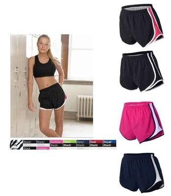 LADIES NOVELTY VELOCITY RUNNING SHORT