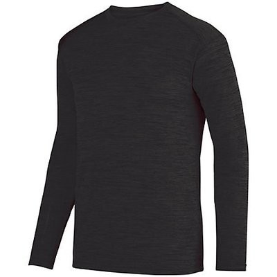 SHADOW TONAL HEATHER LONG SLEEVE TEE