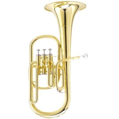 GOLD LAQUERED EB ALTO HORN