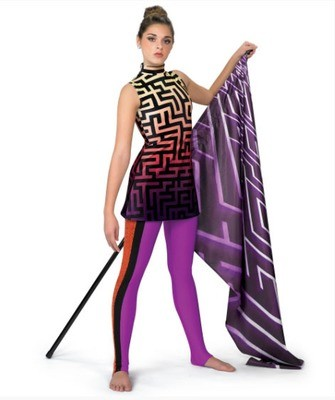 LABYRINTH TUNIC DIGITAL DRESS
