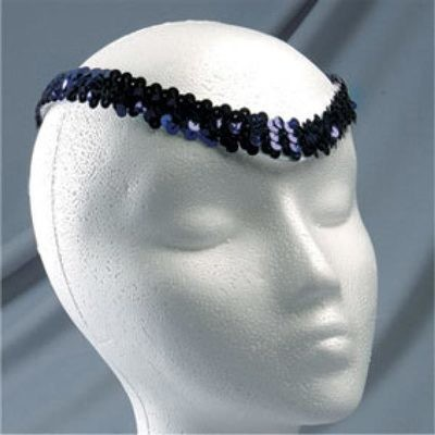 THIN SEQUIN HEADPIECE