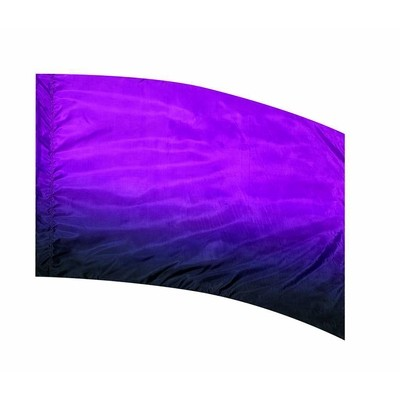 PURPLE TO BLACK SHADED FLAG