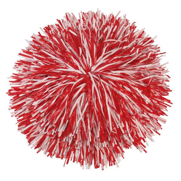 PLASTIC POM NARROW CUT - 2 COLOR MIX