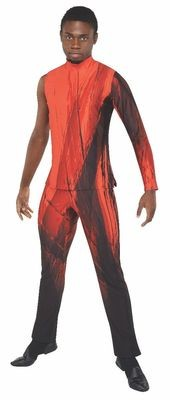A3M MALE DIGITALLY PRINTED JUMPSUIT