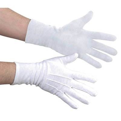 LONG WRISTED NYLON POLYSTRETCH MARCHING BAND GLOVES