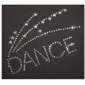 DANCE BURST RHINESTONE