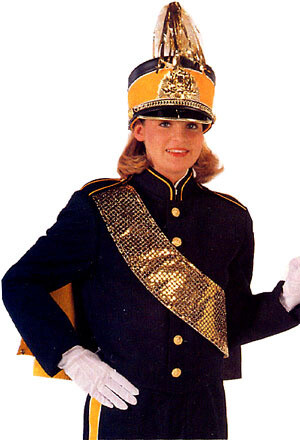 MARCHING BAND COAT P81B507