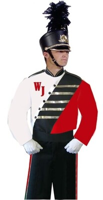MARCHING BAND BLOUSE BL005R