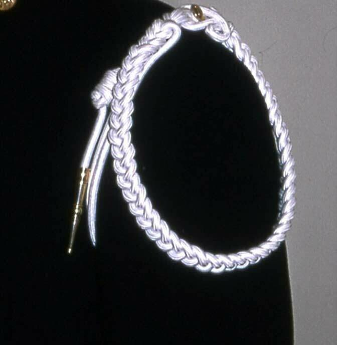 METALLIC MILITARY CITATION CORD