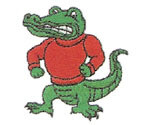 GATOR EMBROIDERY 01