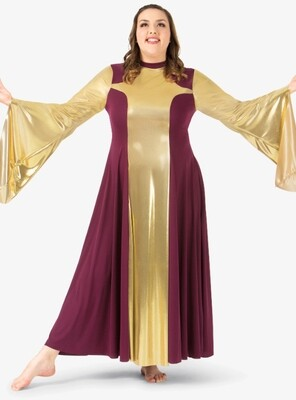 PLUS SIZE WORSHIP DRESS