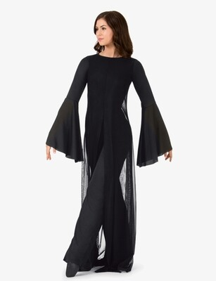 WORSHIP LONG SLEEVE JUMPSUIT