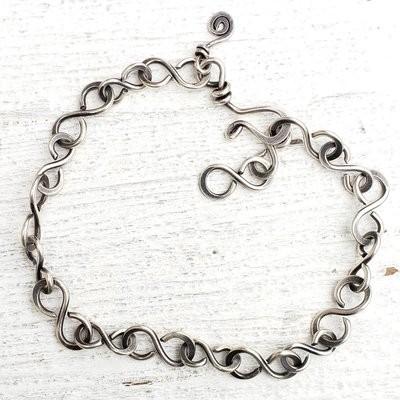 I Know Whom I Have Believed Sterling Bracelet