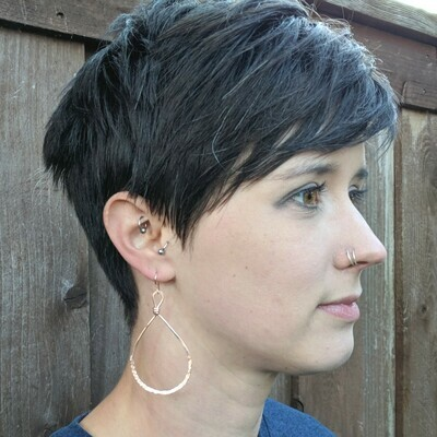 Hammered Excellence Earrings