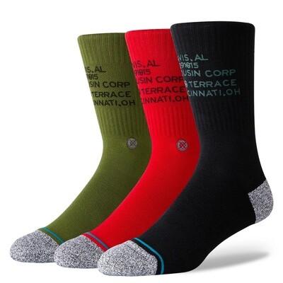 Stance Socks Corp 3 Of A Kind