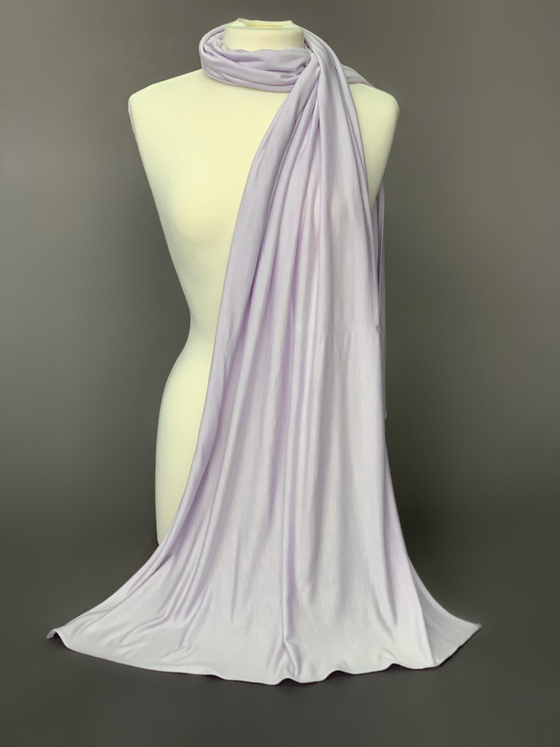 Non Stretch Jersey HAZED LILAC