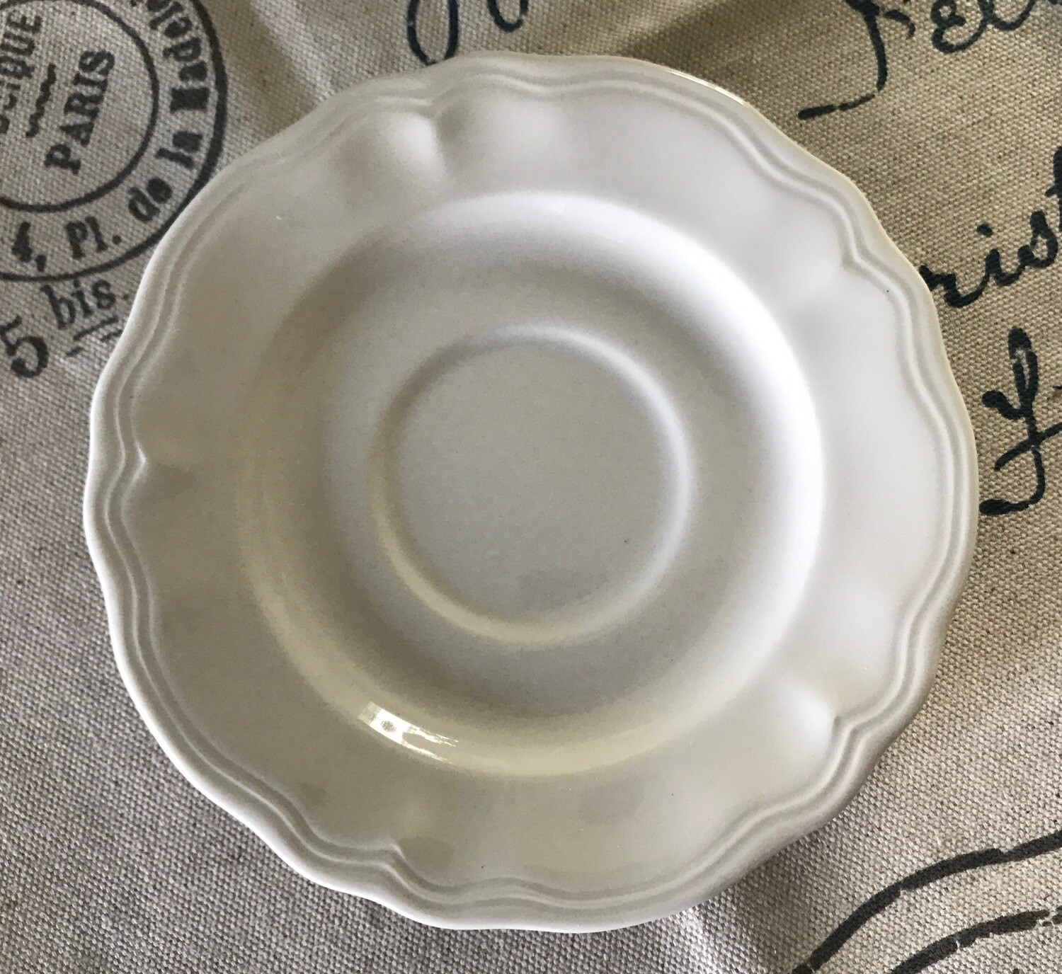 Federalist Ironstone Saucer #4238 Made in Japan